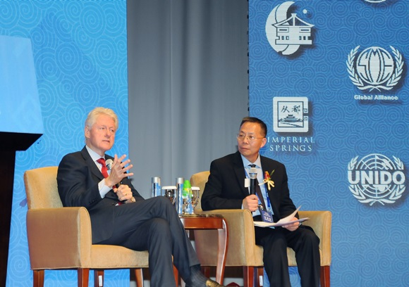 Dialogue with President Clinton by Dr. George Wang