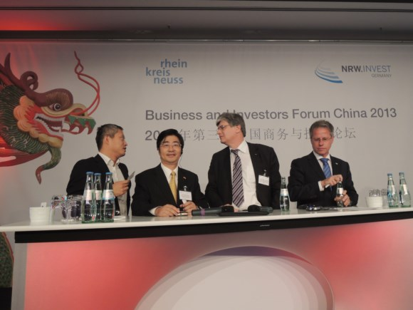 Guests at the China Business and Investment Forum