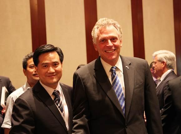 Mr. Frank Cao, Secretary-General of GASME and the Governor