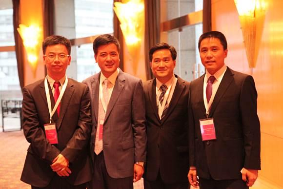 The attending entrepreneurs