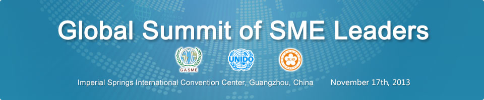 Global Summit of SME Leaders 2013